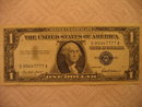 Series 1957 $1 Blue Seal Silver Certificate