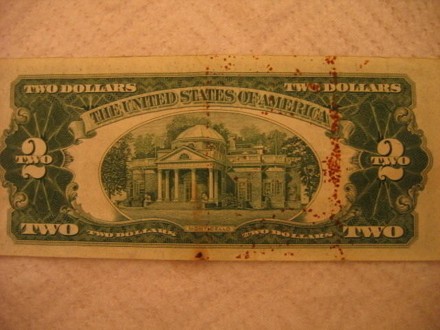 Series 1953 A $2 Red Seal Note