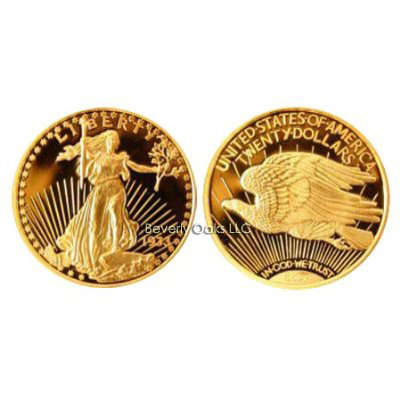 1933 $20 St. Gaudens Gold Replica Coin