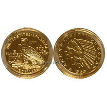 Lot of 10 - 1929 $5 Gold Indian Head Eagle Replica Coin