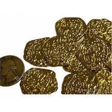 Lot of 10 - Pirate Gold Coins