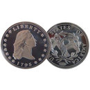 1795 Flowing Hair Silver Dollar Replica Coin