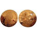 1796 Draped Bust Half Dollar Silver Replica Coin