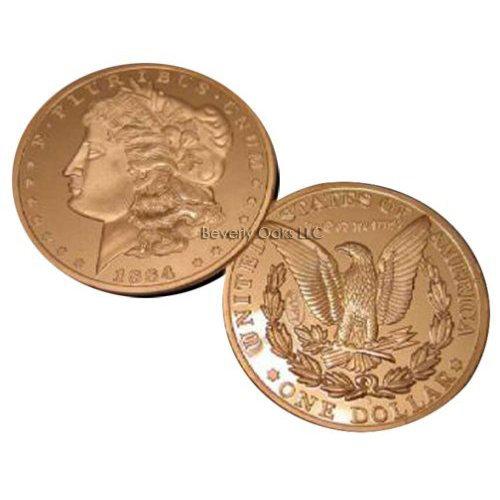 1884 S Morgan Silver Dollar Replica Coin