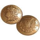 1889 CC Morgan Silver Dollar Replica Coin