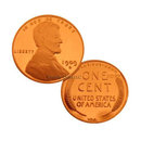 1909 S VDB Lincoln Cent Replica Coin