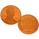 Lot of 10 - 1914 D Lincoln Cent Frosted Cameo Replica Coins