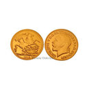 1918 P Gold Half Sovereign Replica Coin