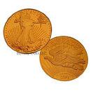 Lot of 10 - 1921 $20 Saint Gaudens Gold Double Eagle Replica Coins
