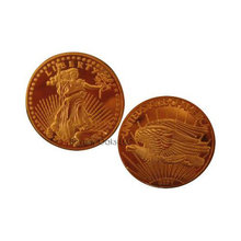 1933 $20 Saint Gaudens Gold Double Eagle BU Replica Coin