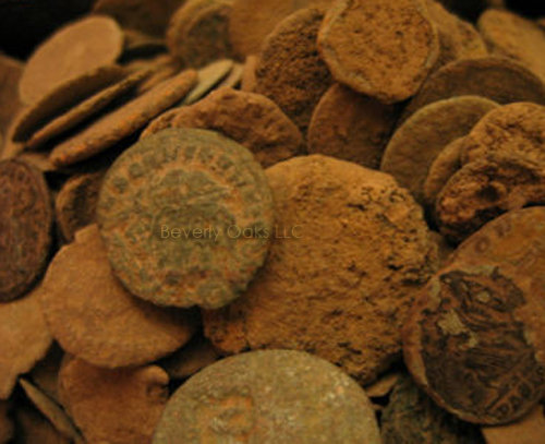 Lot of 1000 – Uncleaned Roman Ancient Coins