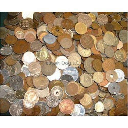 Quarter Pound of Circulated World Coins
