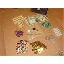 Treasure Chest Full of Jewels & Bullion Collectibles