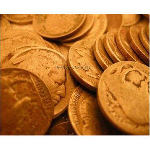 4 Buffalo Indian Head Nickels - Dug Filler Coins