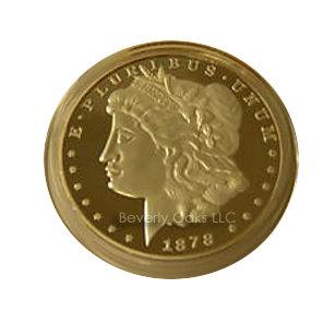 1878 CC Morgan Silver Dollar Replica Coin
