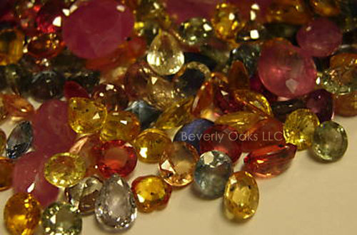 5 Carat Faceted Sapphires