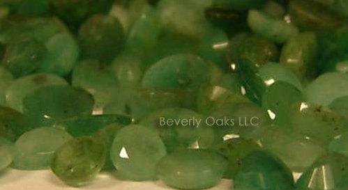 1 Carat Faceted Emerald
