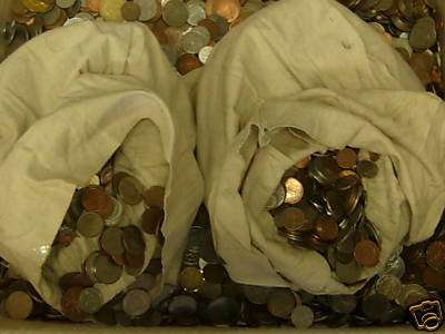 25 lbs Mixed World Coins