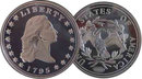 Lot of 50 - 1795 Flowing Hair Dollar Silver Coins - Replica