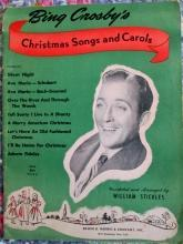 Bing Crosby's Christmas Songs & Carols (34) Sheet Music - 1945