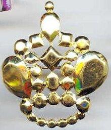 SALE Trifari gold Tone  Crown Pin
