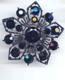 SALE Weiss Black huge Pin