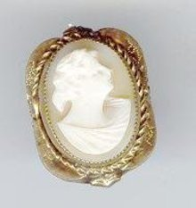 SALE Cameo ring Vintage