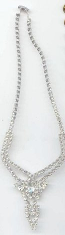 SALE Magnificent Sparkly Rhinestone  Necklace