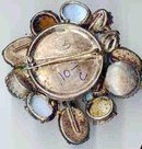 SALE Wonderful Huge  Brooch  signed