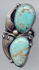 SALE Gigantic Turquoise  Ring.