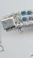 SALE Weiss Rhinestone Bracelet