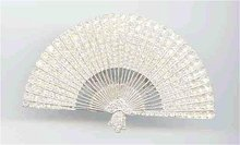 SALE Magnificent  Gigantic    Fan Rhinestone