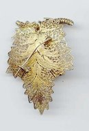 SALE Vintage Grape leaf Pin