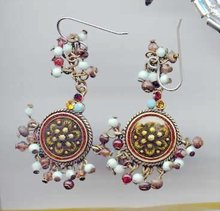 SALE unique Earrings with beads