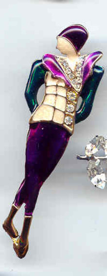 SALE Sheik Lady Pin