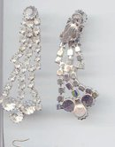 SALE Long Rhinestone Earrings 3