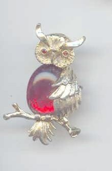 SALE Jelly Belly Owl Signed by Jerry