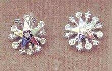 SALE Eastern Star Earrings