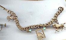 SALE Horse Charm Bracelet
