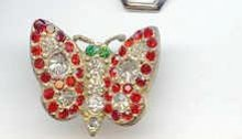 SALE Cute Vintage Butterfly Pin