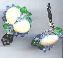 SALE Designer Earrings Clip on