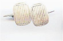 SALE Silver Vintage Cuff Links