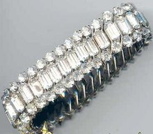 SALE Brilliant Stretch rhinestone Bracelet