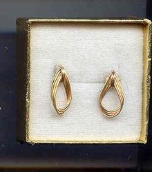 SALE 14Kt  gold  earrings