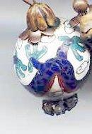Oriental vintage Bracelet with bakelite
