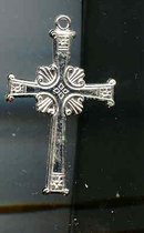 SALE Large Sterling Cross