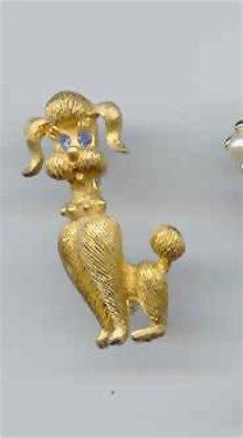 SALE Show Poodle Pin