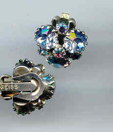 SALE Weiss Earring Blue