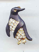 SALE Penguin Pin