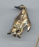 SALE Penguin Pin